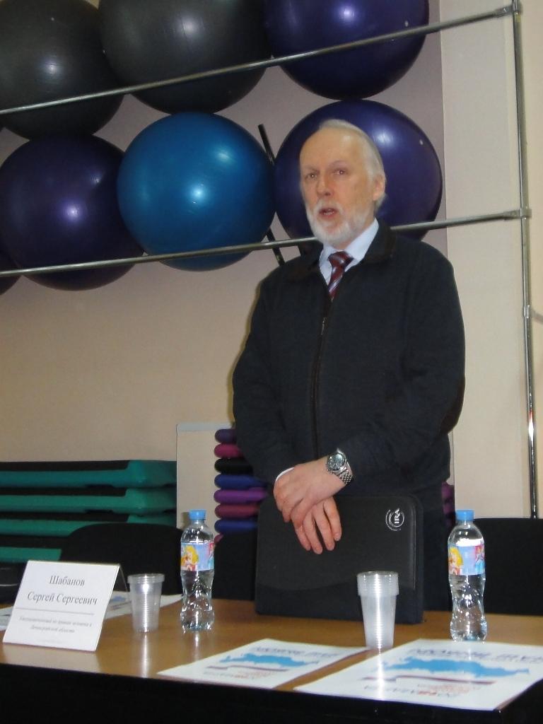 Встреча с Уполномоченным по правам человека в Ленинградской области Шабановым С.С.
