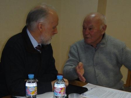 В Тихвинской городской организации ВОИ беседа с Уполномоченным по правам человека в Ленинградской области С.С. Шабановым