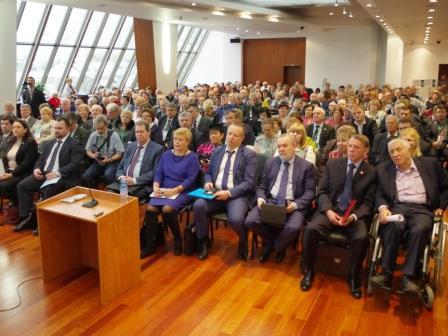 делегаты VI съезда Всероссийского общества инвалидов 11.11.2016 г.