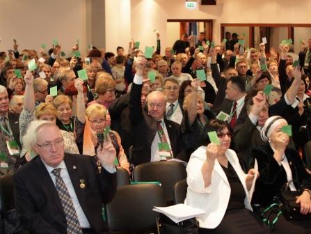 голосование на съезде
